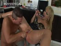 Mature MILF gets asshole fucked part6