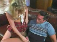 Willing blonde gets it on