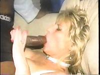 Blonde wife cheats her husband with monstrous Jamaican prick