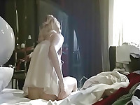 First Anna Jimskaia naked masturbating in bed. Then Anna Jimskaia making out with a guy as he hikes up her dress and squeezes her bare ass and then she kneels in front of him and gives him blowjob in this explicit sex scene. From Monamour.