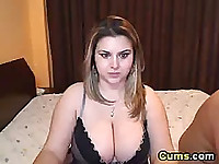 Hot BBW wife gets doggy fucked hard