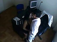 Indian secretary fucking with her boss in Office Hidden Cam SEX