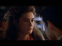 Demi Moore Romantic Scene