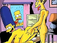 Picture video of the Simpsons porn