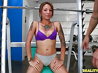 Horny latinas girls turning any place to fucking place