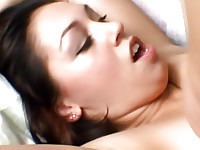 black dick ejaculation to Latino mouth, naturally pounding in side