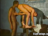 Hot interracial gay sex action