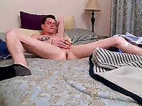 Aaron Manson strokes out a load