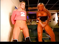 Hot slave girl gets a good spanking