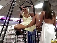 Molly & Misty shopping and teasing (Muffia » Molly's Life)