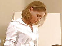 Hot office lesbians thrusting bananas and cucumbers (Try something different » Free)