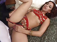 Exotic Indian Hottie Wants Every Hole Fucked