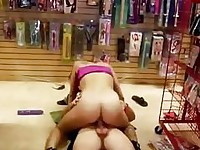 Hot momma Rhiannon Alizedripping jizz from pretty face after a deep fucking