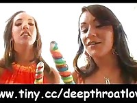 Deepthroat love  sluts suck cocks deep video19
