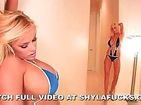 Shyla stylez gets nasty with puma