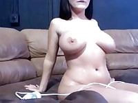 Busty Amateur Gets Unloaded with Cum HD
