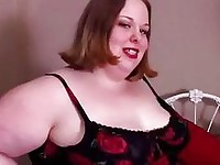 big beautiful woman gives a great blowjob