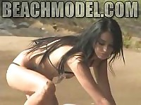Simmone The Latina Extreme Micro Thong Model