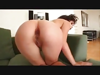Cum in her asshole Creampie Compilation