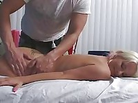 Sexy blonde with braids gets fucked hard
