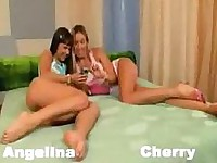 Cherry and angelina creampie with big cock