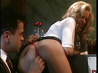 Stunning anal slut Briana Banks loves having her asshole licked before fuck