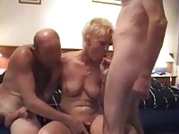 From 2hotdamn  - Mature lady double-penetrated