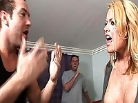 Big titty Codi get a fat load to the face for her birthday!