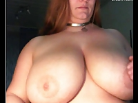 Amateur Big Boobs Woman Webcamera Play