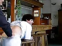 Crazy old mom gets fucked hard