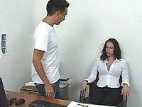 Gianna michaels spanks a guy  guys get fucked