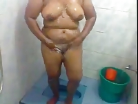 Sexy and Hot South Indian Aunty's Bath Scene