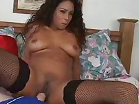 Lusty Latinas in Fishnets