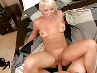 Bithy wife Veronika Raquel loves to get her mouth creamed after a nice hard fuck