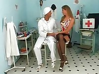 Horny babe visits her doctor