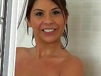 Huge tits girlfriend stalked and fucked