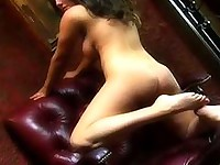 Erica campbell red chair