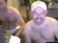 Aroused Amateur Buddies Fucking on Webcam
