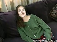 Young Jenna Haze Does An Awesome Casting Shoot Where She Strips