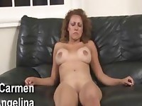 Hypnogirls Carmen Angelina Latina MILF hypnotized!