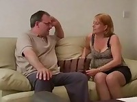mature slut is in for a hard OTK spanking
