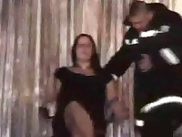 Drunk Sex-Hungry Mothers attacking strippers