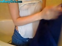 Cristy Plays In The Bathtub On Cam Part 4