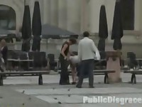Outdoor Bondage Reality BDSM and Public Nudity Spanking and Humiliation