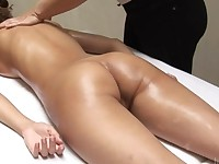 Anna Sbitna in Sensual Oil Massage for Hegre Art