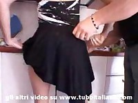 Italian HouseWife Hot Foursome