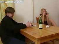 Drunk Blonde Girl Dana Get Fucked