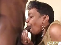 Black Granny Gets Some Teen Cock