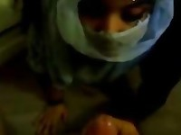 Forbidden Hijab Teen Indian Facial