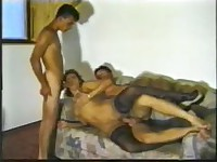 mom have sex with boyfriend and his friend bi